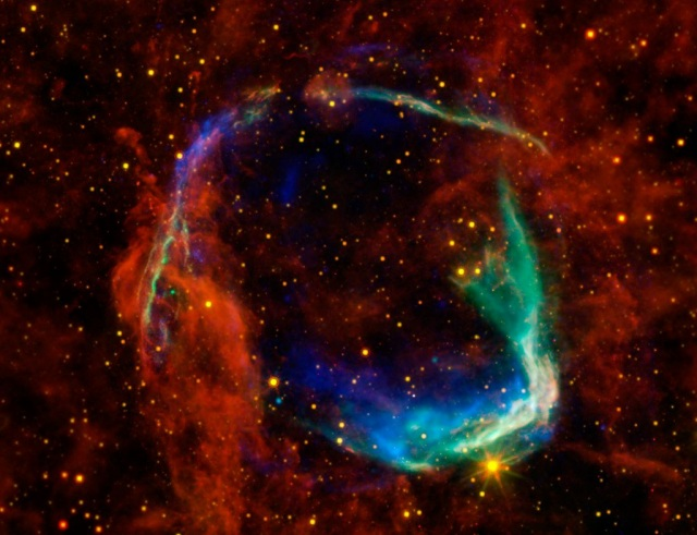 Exciting findings in historic supernova