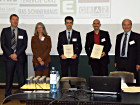 Prize awarding ceremony at the 62nd Annual Meeting in Graz (Foto: Dr. Christian Teichert)