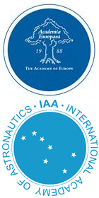 Logos Academia Europaea und International Academy of Astronautics (IAA)